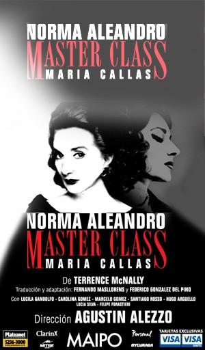 La obra Master Class con Norma Aleandro cambia la fecha de presentación