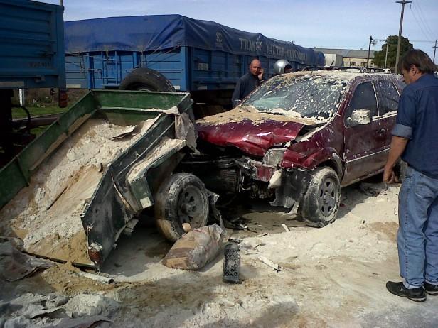 Espectacular accidente sin heridos