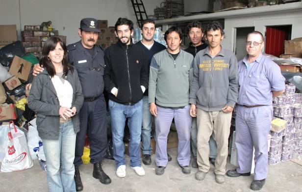 Azul: se recibió una importante donación de la ciudad de Bolívar