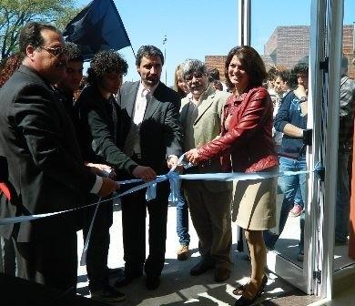 Se inauguró el comedor universitario en el Campus local de UNICEN