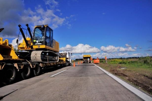 Guaminí: Destacan repavimentación de ruta 65