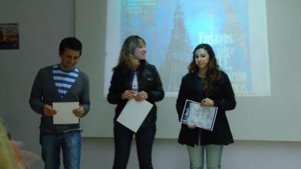 Estudiantes de la carrera de Comunicación de la Facultad de Ciencias Sociales reciben premios