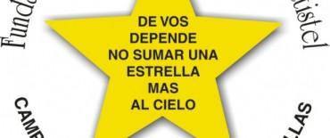 """Olavarría tendrá """"estrellas amarillas"""" por la vida desde el sábado"""