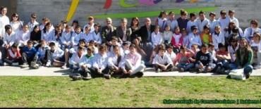 Las Escuelas Rurales visitan la muestra de Picasso