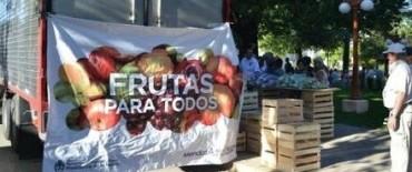 """Este viernes llega el camión de """"Frutas para todos"""""""