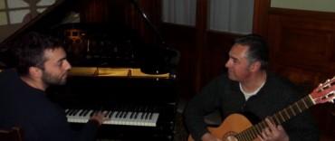 Azul: el dúo de Juan Simón Rodríguez y Juan Gederlini en octubre en el Salón Cultural