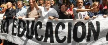 Los docentes bonaerenses convocaron a una marcha para el miércoles 3 de octubre