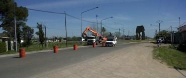 Comenzó la segunda etapa de obras en la autopista Luciano Fortabat