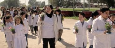 Azul: Con un acto en la Escuela 27 se celebró el Día Nacional de la Conciencia Ambiental