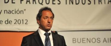 """Scioli destaca """"consenso entre sectores público y privado"""""""