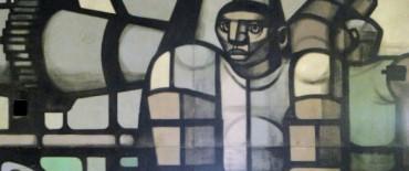 Se busca declarar Patrimonio Cultual  el mural de Pascual Di Bianco