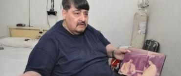 Obeso de 300 kilos bajó más de 20 en un mes y ya se prepara para cirugía bariátrica