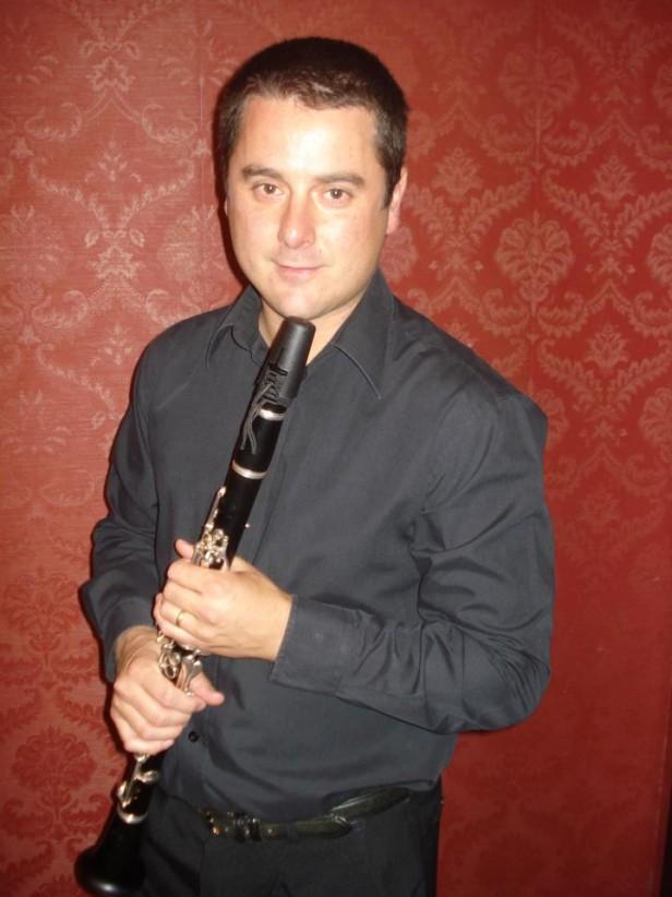Solista de clarinete en el concierto del domingo de la Orquesta Sinfónica Municipal