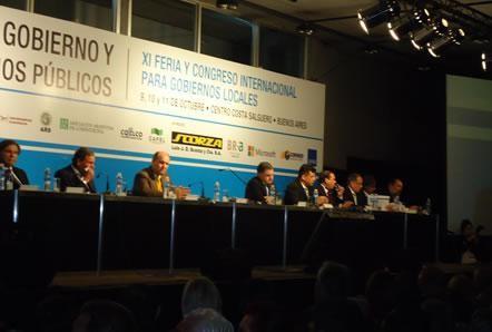 Adelo estuvo  presente en la IX Feria y Congreso Internacional para Gobiernos Locales