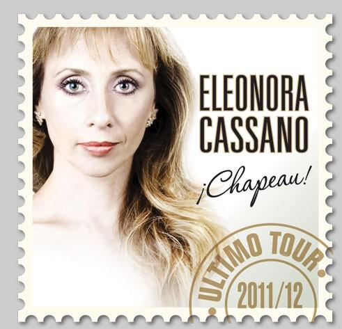 Eleonora Cassano presenta Chapeau en el Teatro Municipal
