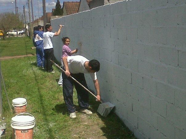 Día de la Lealtad peronista: mural para el barrio Evita