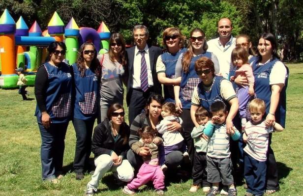 Los Jardines Maternales Municipales realizan la fiesta de la familia