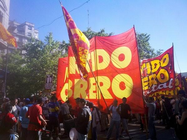 Olavarrienses recordaron el segundo aniversario del crimen de Mariano Ferreyra