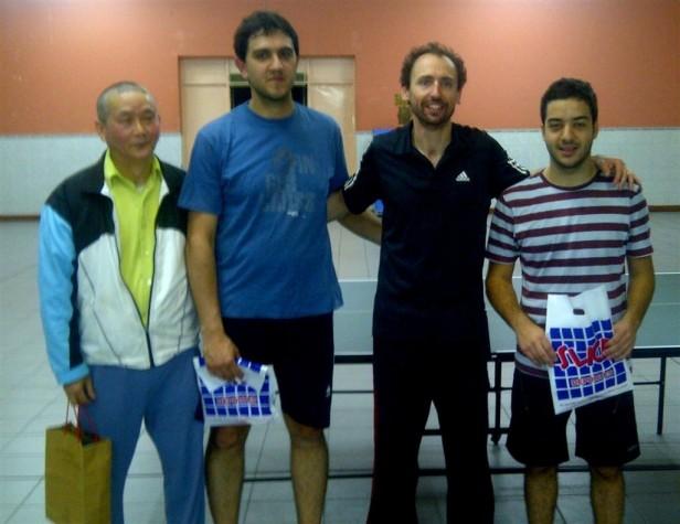 Con gran convocatoria se realizó el tercer Torneo de Tenis de Mesa