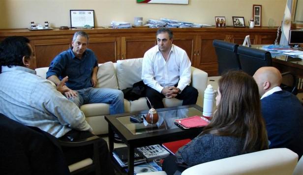 El Intendente Eseverri se reunió con el coordinador regional del AFSCA