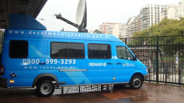 El RENAR móvil estará en Olavarría