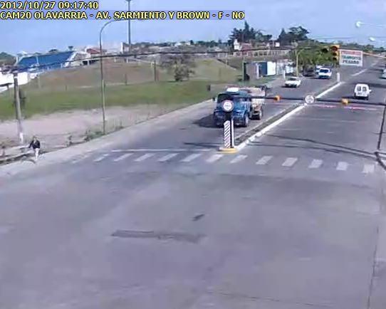 El Gobierno Municipal realizó infracciones al detectar tránsito pesado sobre el Puente Sarmiento