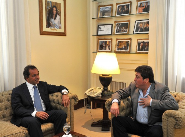 Scioli– Mariotto con avances en agenda legislativa