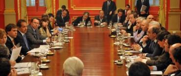 Scioli  se reunió con intendentes radicales, varios de la región