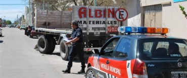 Continúan los controles por restricción de circulación y estacionamiento de camiones: se secuestró un acoplado