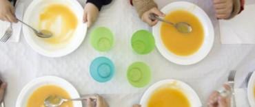 Comedores escolares: restablecen totalidad del servicio en la provincia