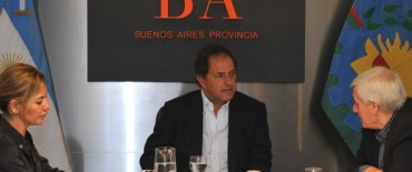 Scioli, De Lucia y Caló por políticas de formación profesional