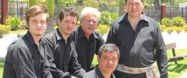 El grupo vocal Tinaja se presenta en el Teatro Municipal