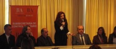 La Madrid: el intendente en una capacitación de Auxiliares de Inspección para Referentes Municipales