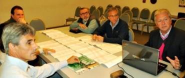 El Municipio presentó el anteproyecto de tratamiento y protección de taludes en Brown entre Colón y Sarmiento