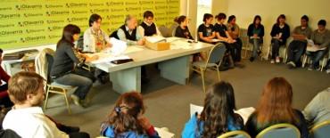 Se reunieron los concejales estudiantiles y anuncian la primera sesión