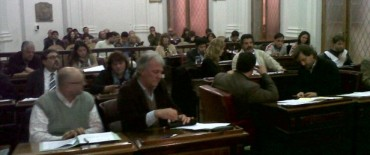 Sesionó el Concejo Deliberante: Landoni como ciudadano ilustre, Loma de Paz y colectivos como temas convocantes