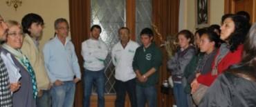 El Intendente Eseverri recibió a la EES Nº 20 del Paraje Las Piedritas