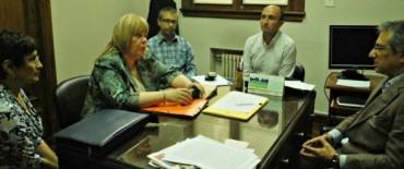 El Intendente Eseverri recibió a la Directora Regional del Ministerio de Desarrollo Social de la Provincia de Buenos Aires