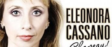 """Eleonora Cassano será declarada """"Visitante Ilustre"""" por el Gobierno Municipal"""