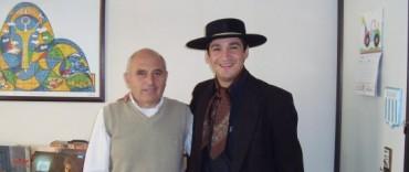 Leonardo Miranda visitó nuestra emisora