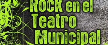 Espectáculo de rock en el Teatro Municipal