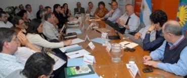 Olavarría participó de la primera reunión de gestión de Jorge Telerman como titular del Instituto Cultural