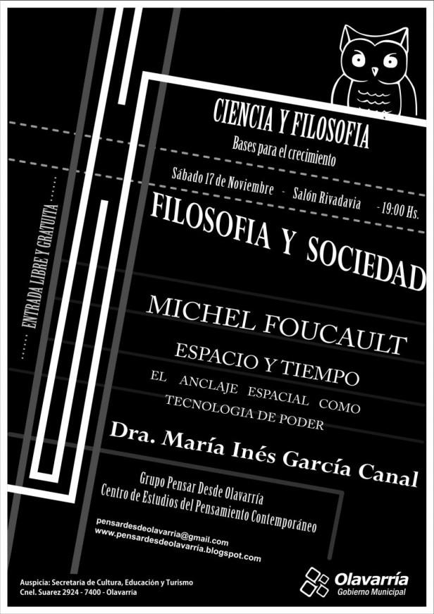 Nueva conferencia  de Filosofía