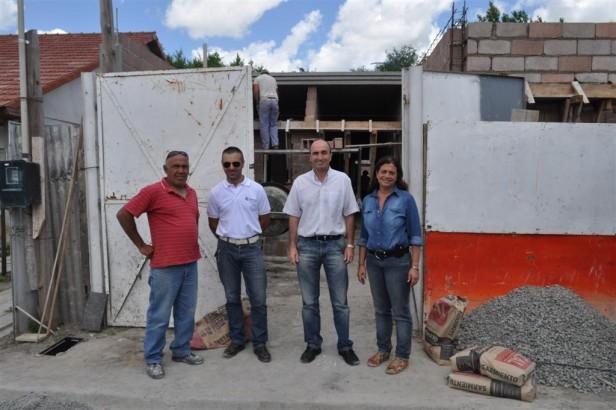 """Importante avance en la construcción del Jardín Maternal Municipal """"San Leopoldo"""""""