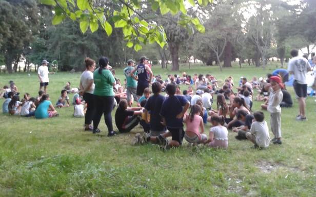 Los chicos de los Centros de Día Municipales tuvieron su jornada de Vida en la Naturaleza