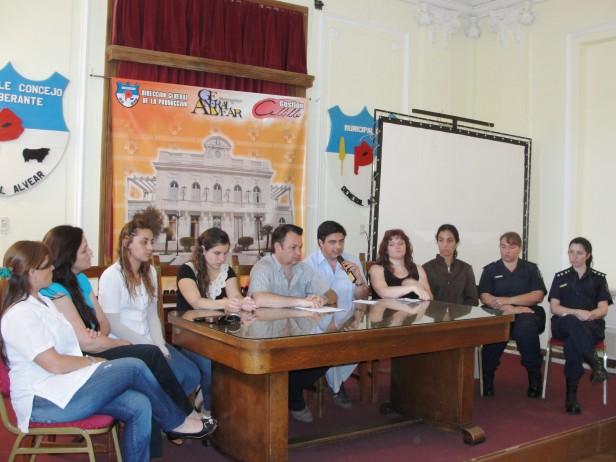 Alvear: fue presentada la mesa local contra la violencia familiar