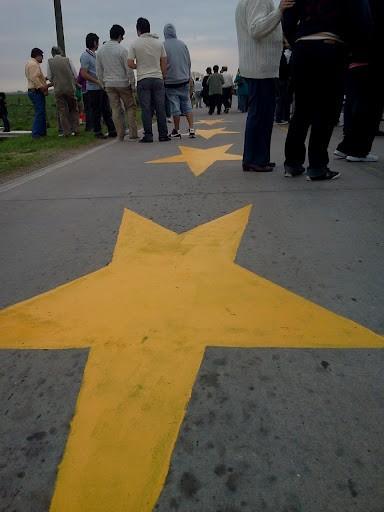 Estrellas Amarillas: pasaron la pintada a este viernes