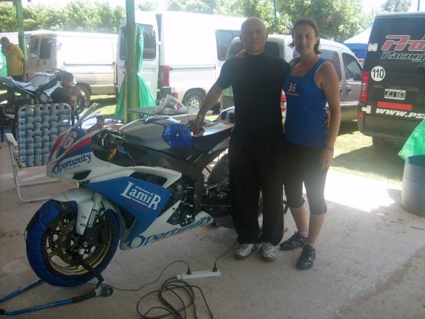 Roque Perez recibió al motociclismo de la Provincia