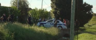 Una persona detenida tras un importante allanamiento.