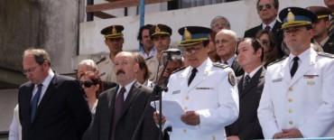 Azul: el Intendente participó del acto por la Semana de la Policía Federal